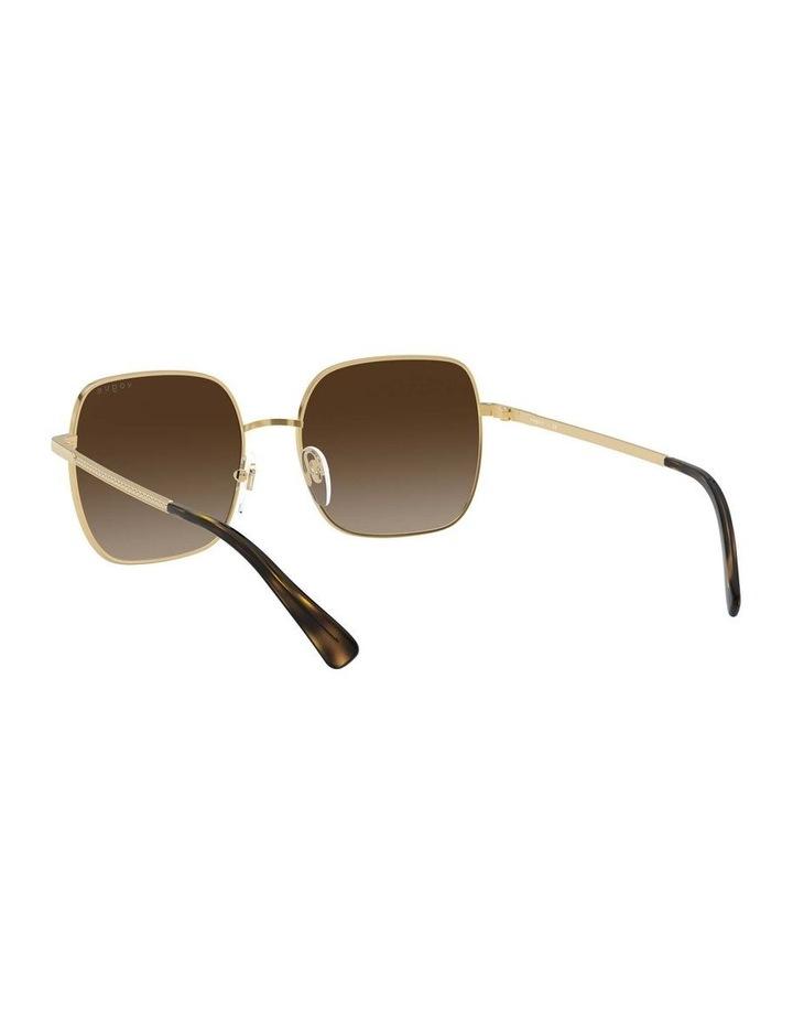 Brown Metal Square Sunglasses 0VO4175SB 1530806002 image 6