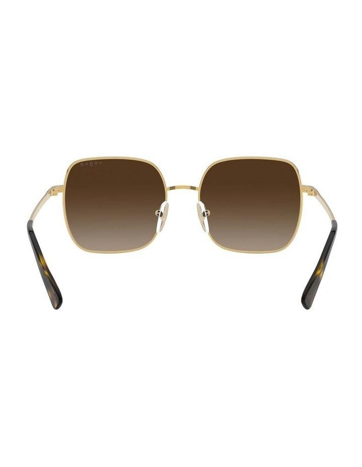 Brown Metal Square Sunglasses 0VO4175SB 1530806002 image 7