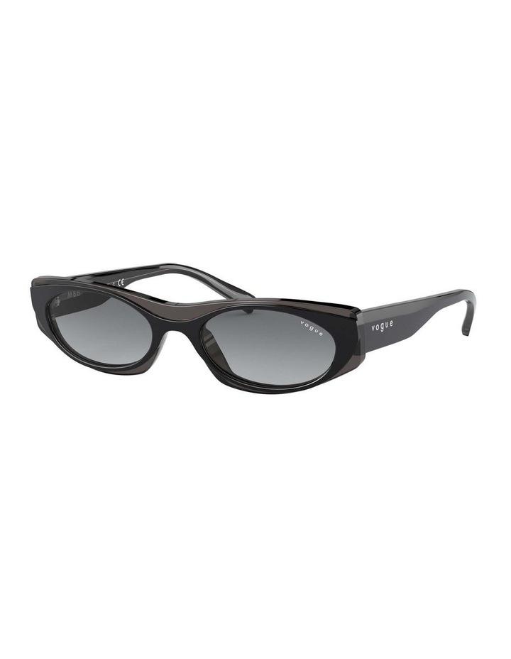 Grey Rectangle Sunglasses 0VO5316S 1530809001 image 1