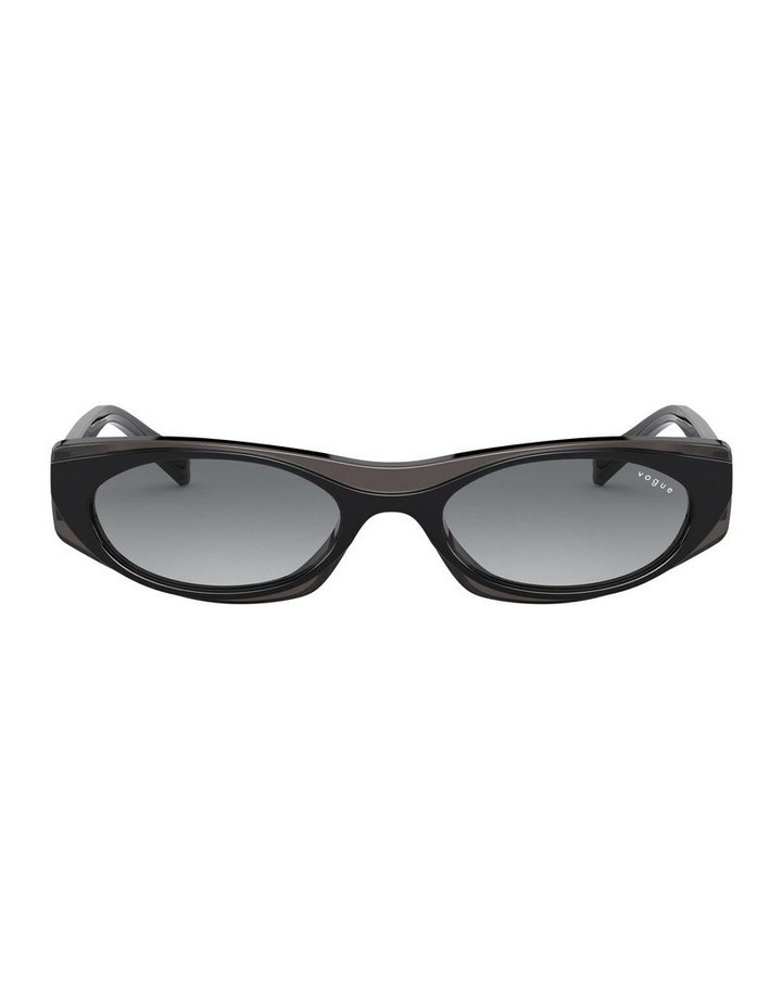 Grey Rectangle Sunglasses 0VO5316S 1530809001 image 2