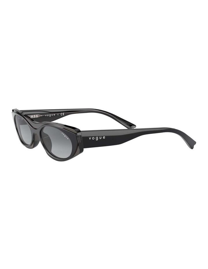 Grey Rectangle Sunglasses 0VO5316S 1530809001 image 3