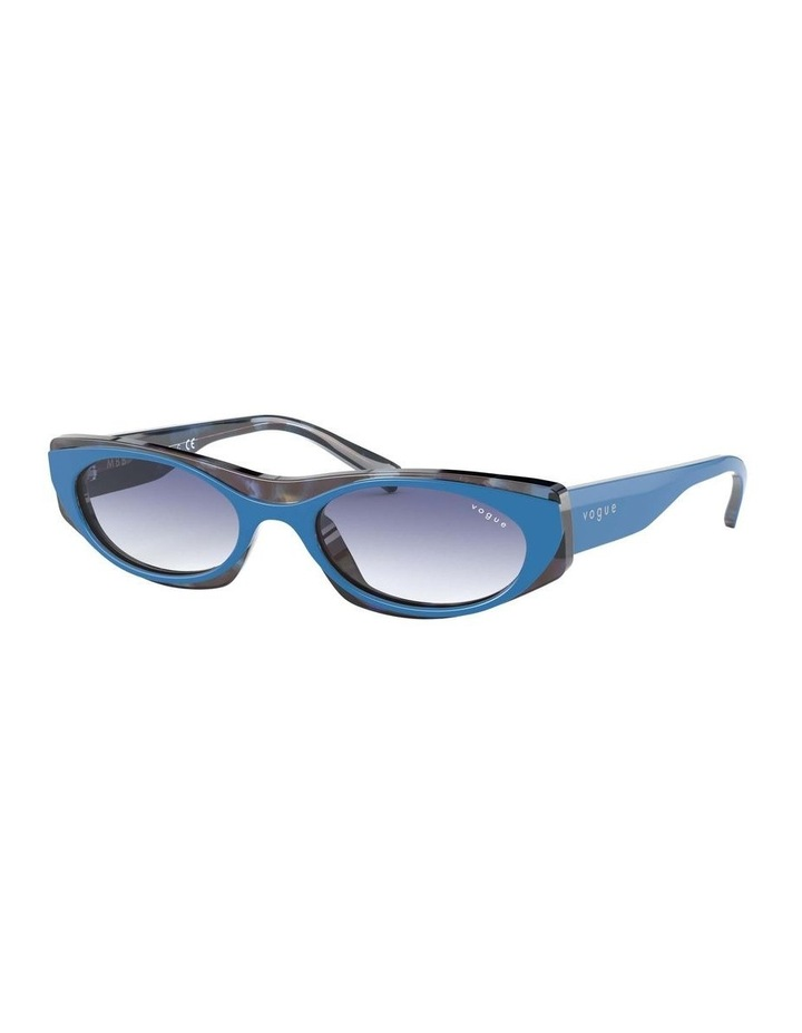 Blue Rectangle Sunglasses 0VO5316S 1530809006 image 1