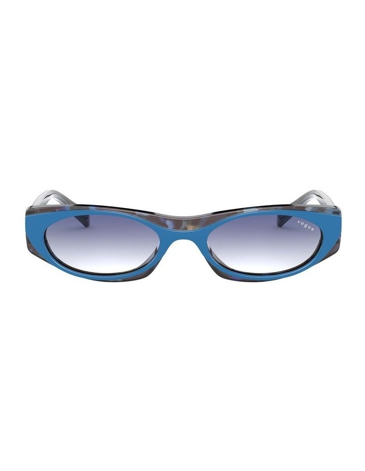 Blue Rectangle Sunglasses 0VO5316S 1530809006 image 2