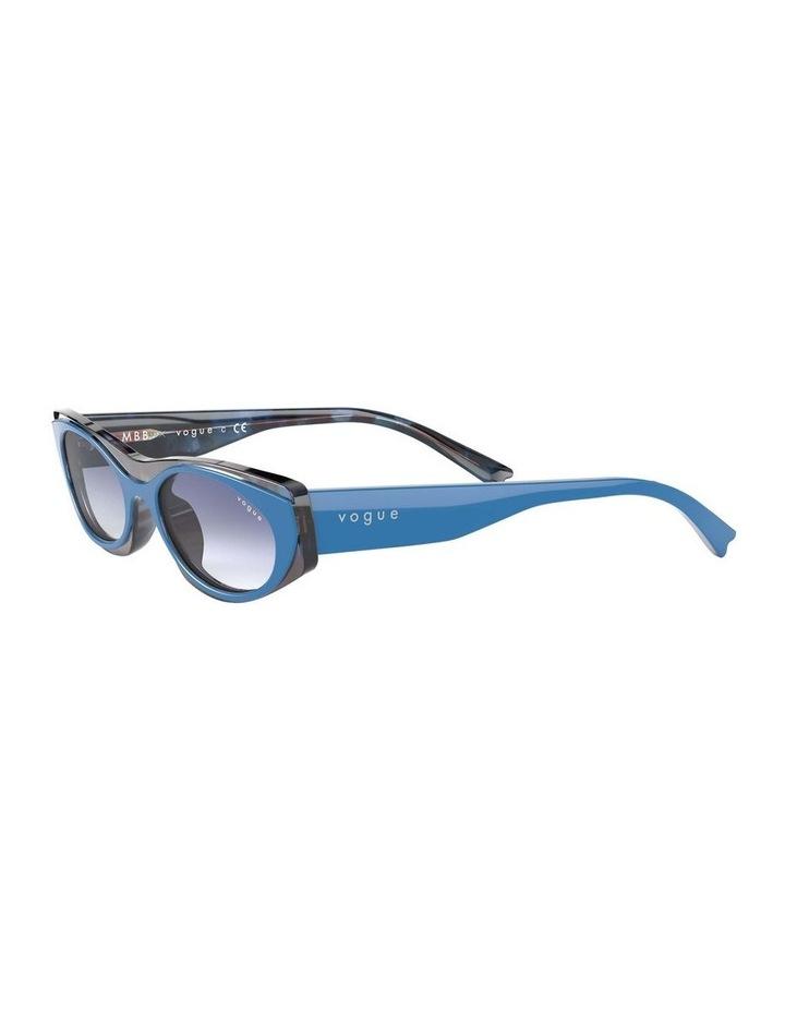 Blue Rectangle Sunglasses 0VO5316S 1530809006 image 3