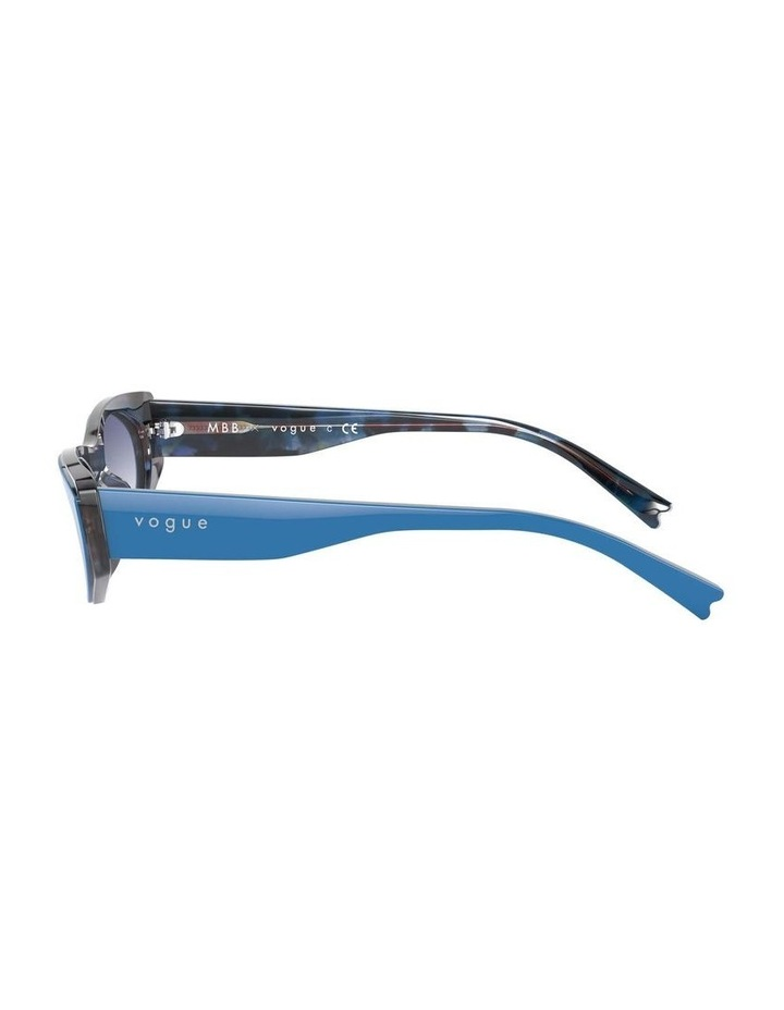 Blue Rectangle Sunglasses 0VO5316S 1530809006 image 4