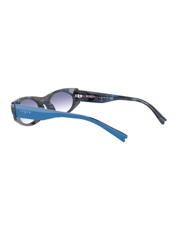 Blue Rectangle Sunglasses 0VO5316S 1530809006 image 5
