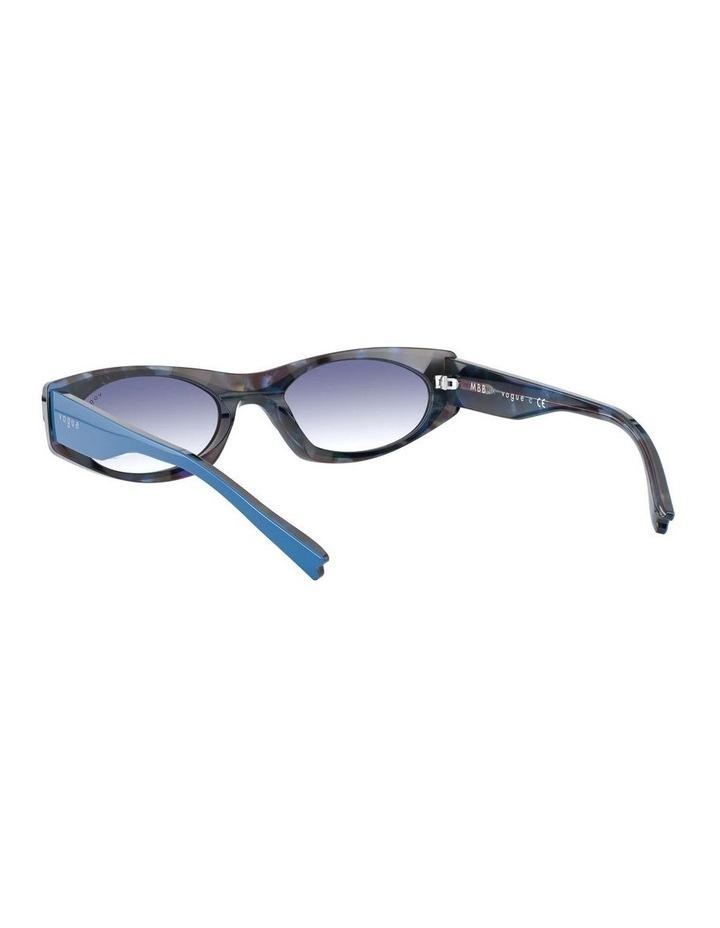 Blue Rectangle Sunglasses 0VO5316S 1530809006 image 6
