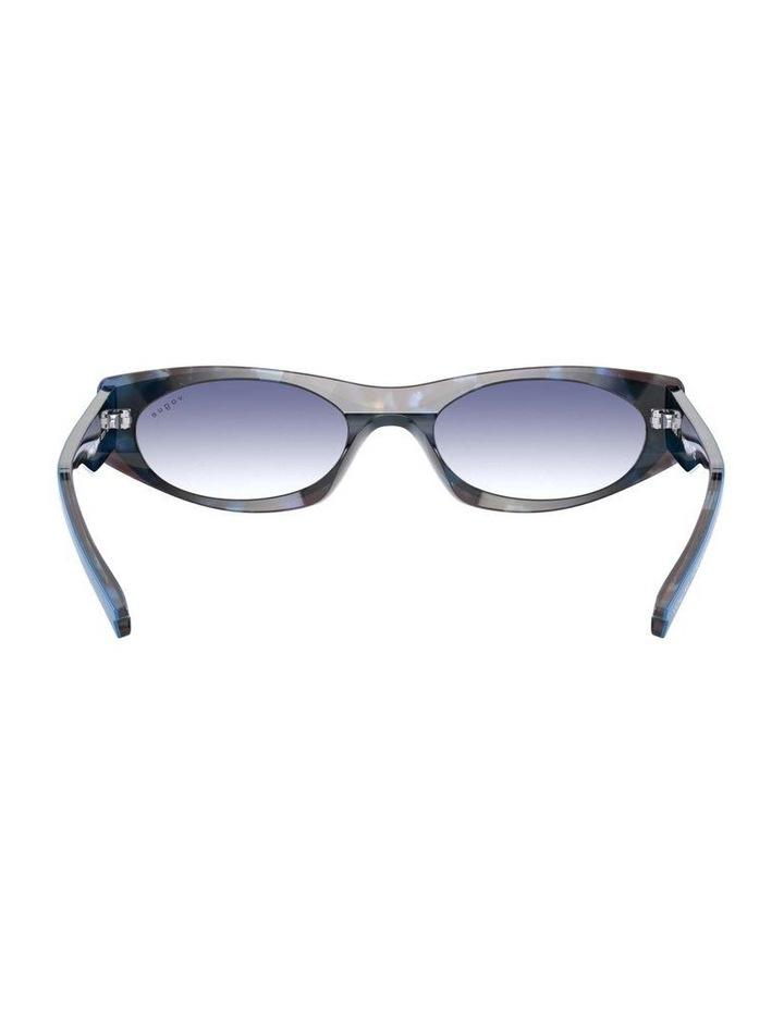 Blue Rectangle Sunglasses 0VO5316S 1530809006 image 7