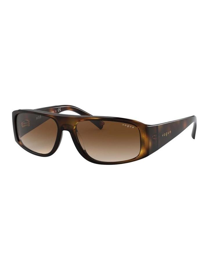 Brown Rectangle Sunglasses 0VO5318S 1530811002 image 1