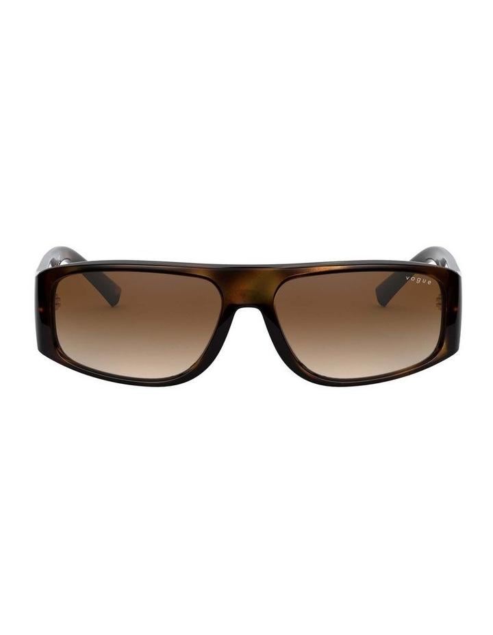 Brown Rectangle Sunglasses 0VO5318S 1530811002 image 2