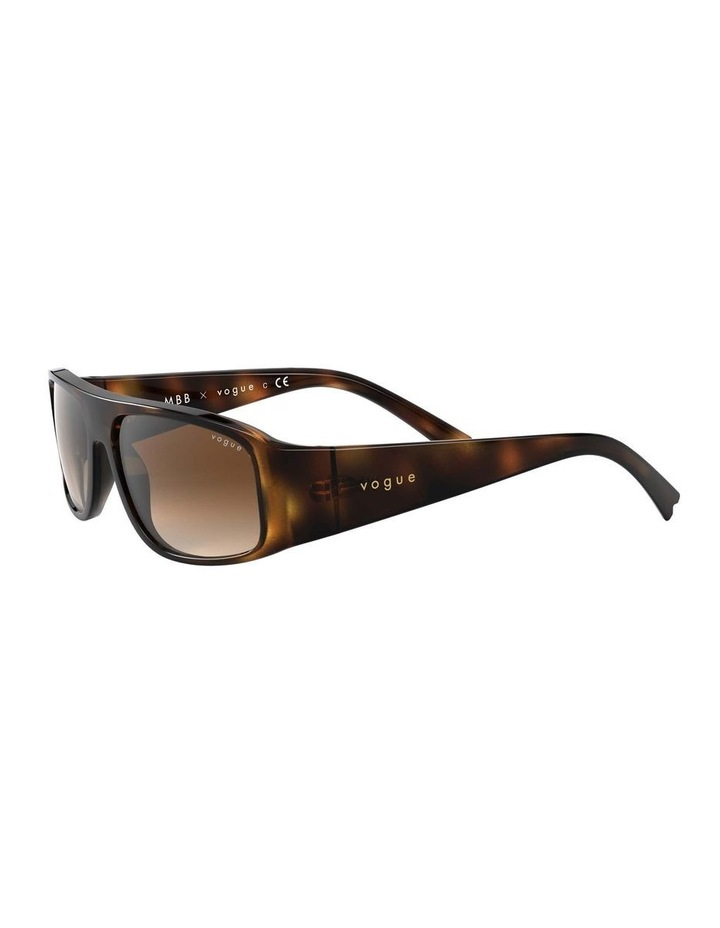 Brown Rectangle Sunglasses 0VO5318S 1530811002 image 3