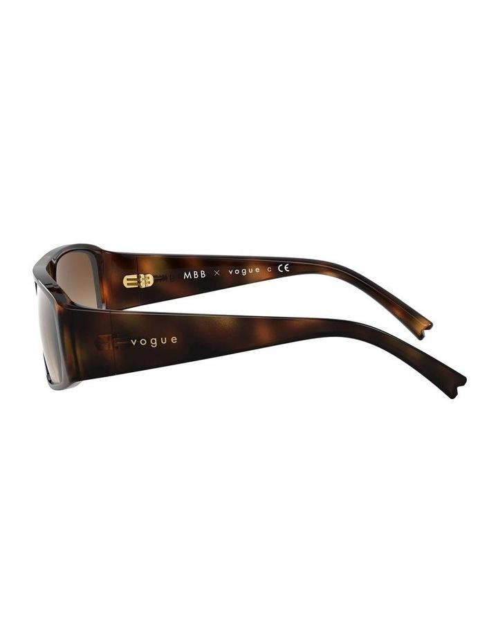Brown Rectangle Sunglasses 0VO5318S 1530811002 image 4