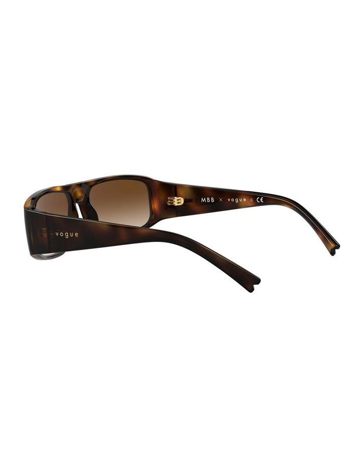 Brown Rectangle Sunglasses 0VO5318S 1530811002 image 5