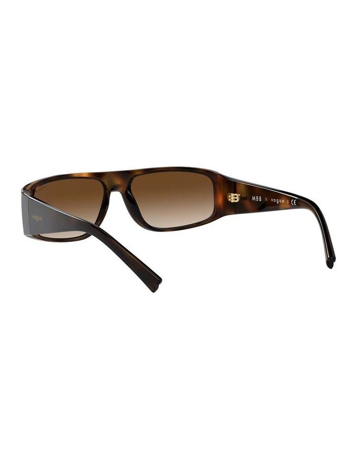 Brown Rectangle Sunglasses 0VO5318S 1530811002 image 6