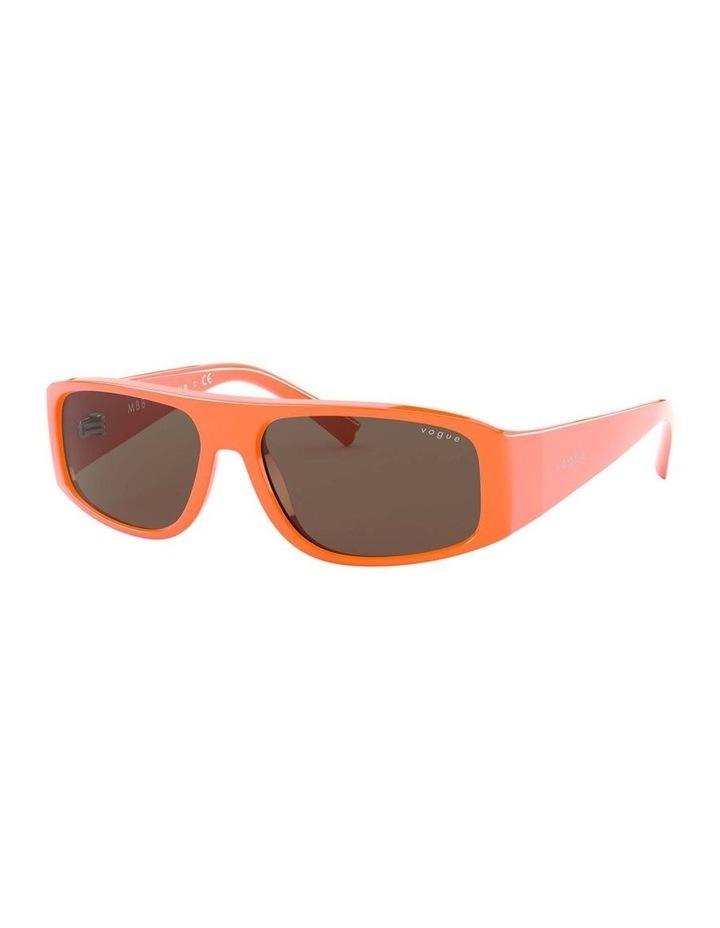 Brown Rectangle Sunglasses 0VO5318S 1530811003 image 1