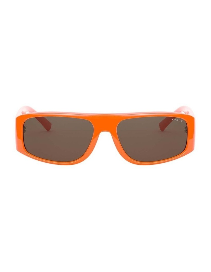 Brown Rectangle Sunglasses 0VO5318S 1530811003 image 2