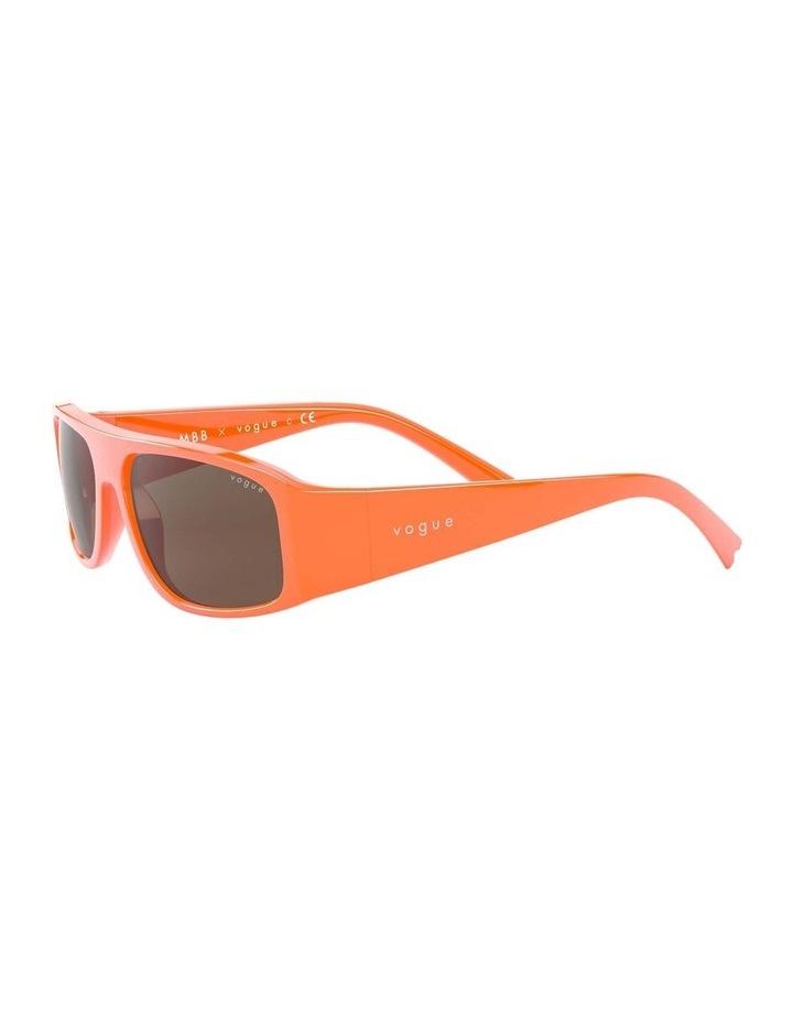 Brown Rectangle Sunglasses 0VO5318S 1530811003 image 3