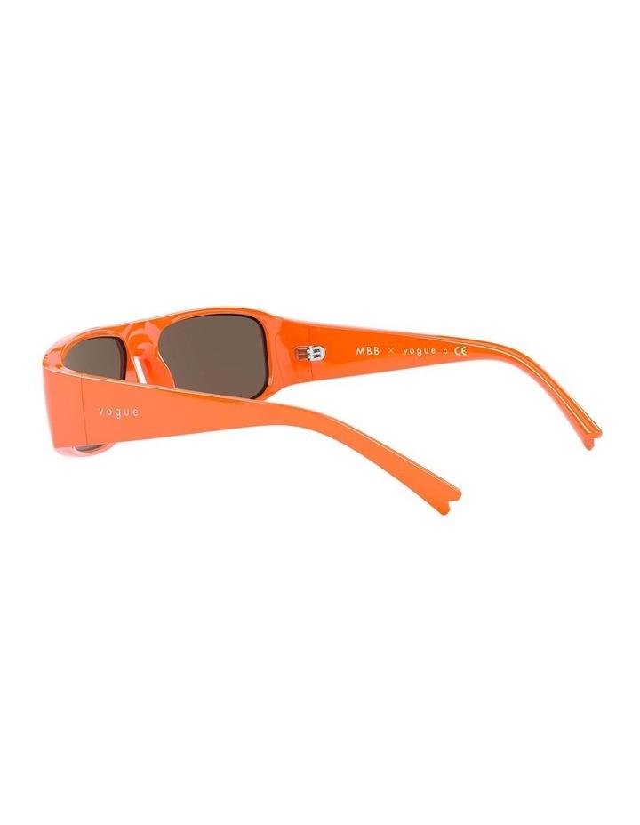 Brown Rectangle Sunglasses 0VO5318S 1530811003 image 5