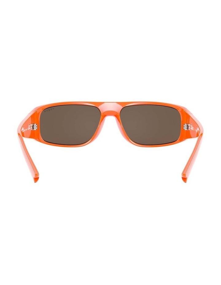 Brown Rectangle Sunglasses 0VO5318S 1530811003 image 7