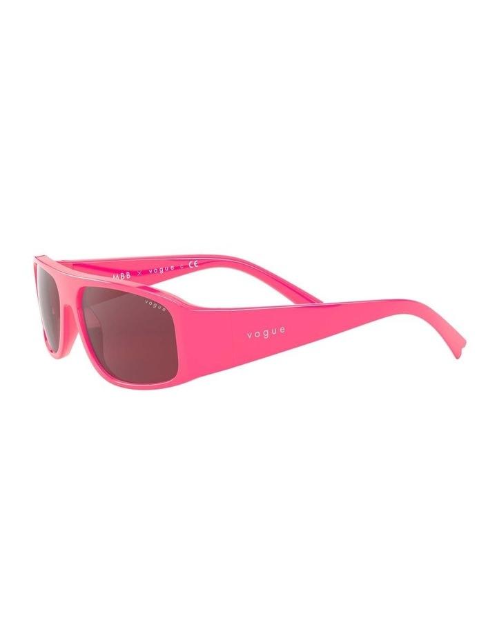 Purple Rectangle Sunglasses 0VO5318S 1530811004 image 3