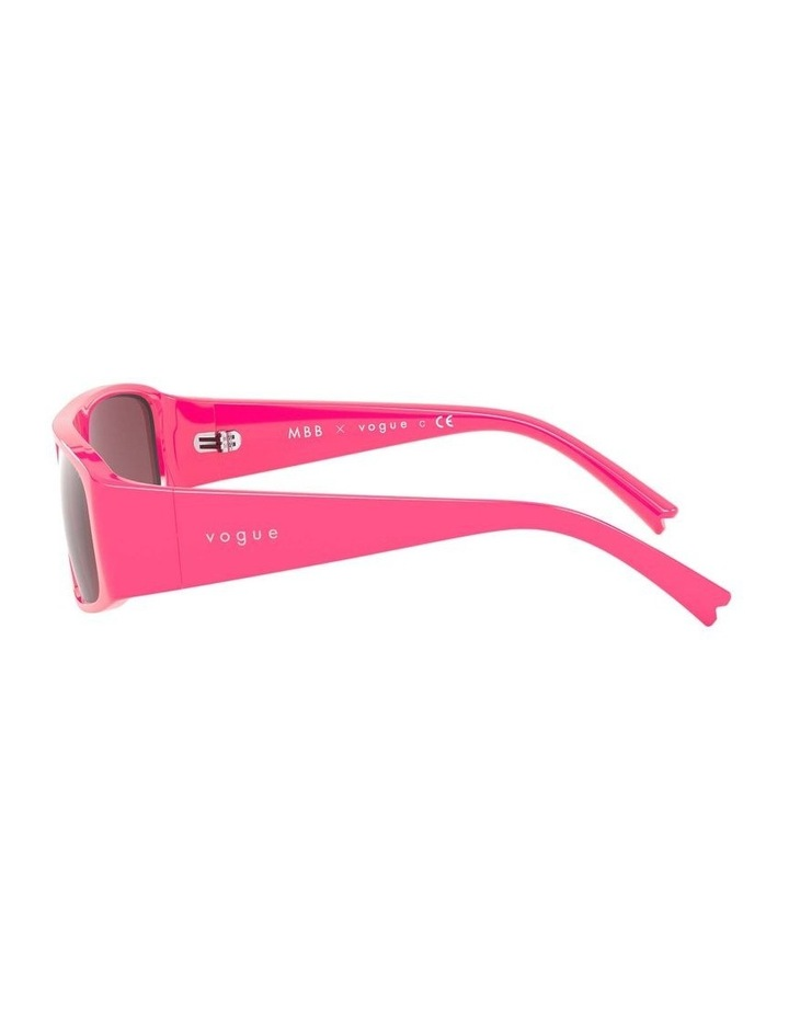Purple Rectangle Sunglasses 0VO5318S 1530811004 image 4