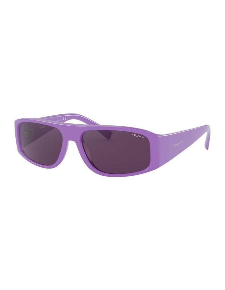 Purple Rectangle Sunglasses 0VO5318S 1530811006 image 1
