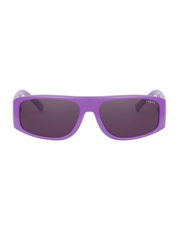 Purple Rectangle Sunglasses 0VO5318S 1530811006 image 2