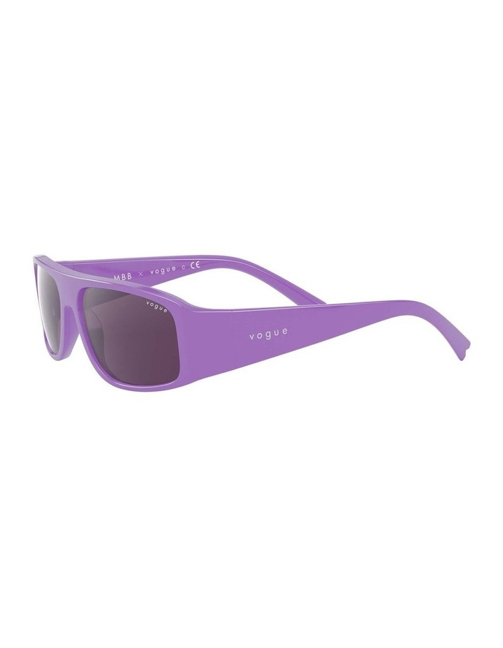 Purple Rectangle Sunglasses 0VO5318S 1530811006 image 3