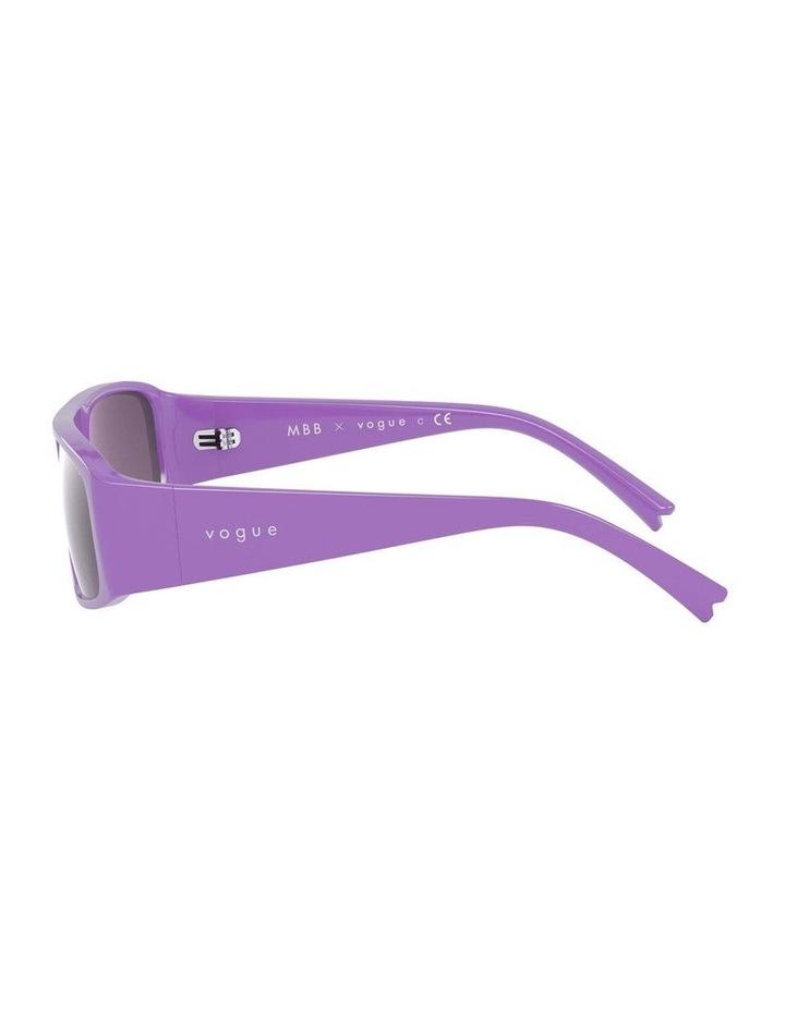Purple Rectangle Sunglasses 0VO5318S 1530811006 image 4
