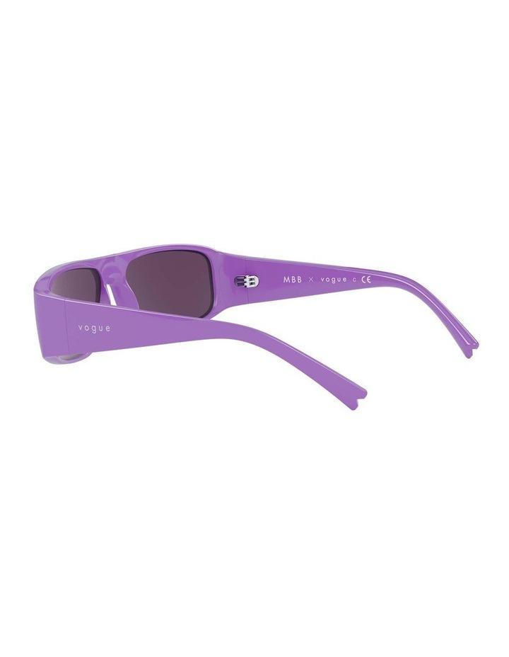 Purple Rectangle Sunglasses 0VO5318S 1530811006 image 5
