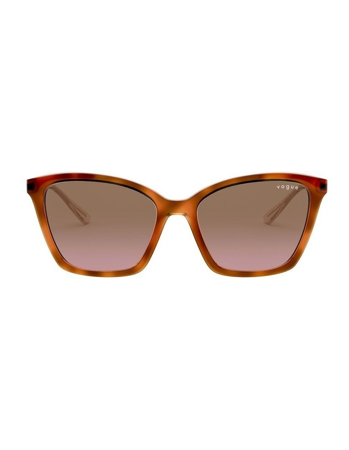 Brown Cat Eye Sunglasses 0VO5333S 1530815003 image 1