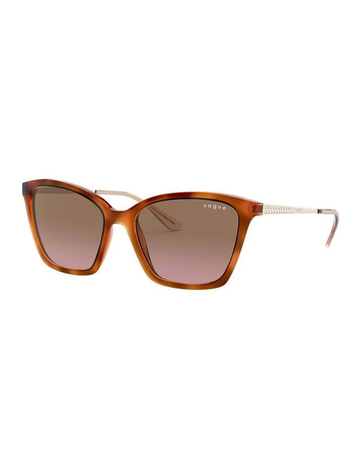 Brown Cat Eye Sunglasses 0VO5333S 1530815003 image 2