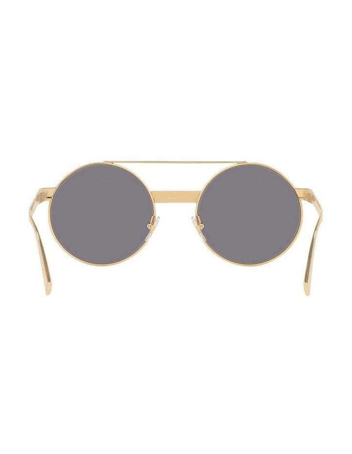 Grey Double Bridge Round Sunglasses 0VE2210 1524110005 image 7