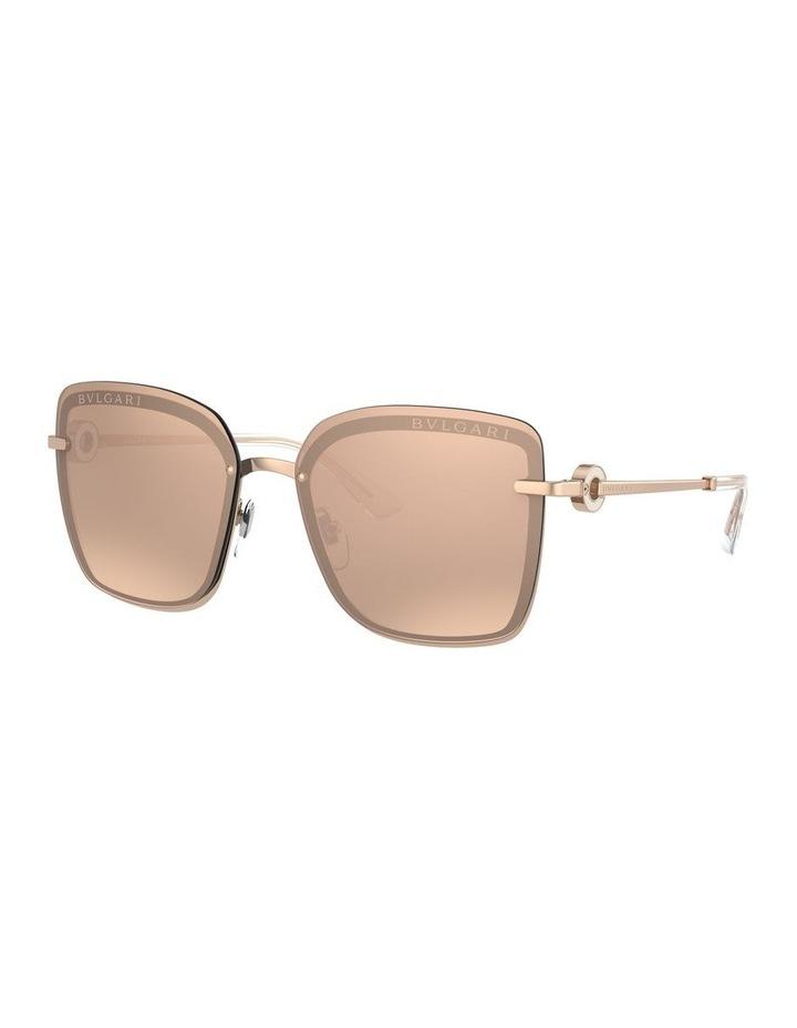 Rose Gold Square Sunglasses 0BV6151B 1533956001 image 1