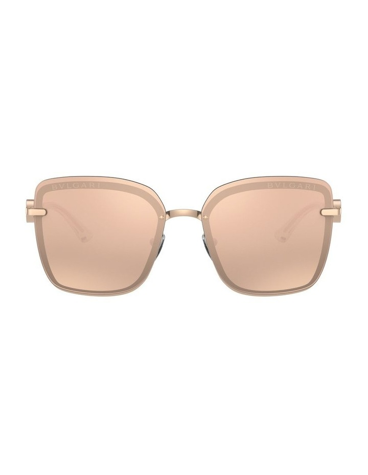 Rose Gold Square Sunglasses 0BV6151B 1533956001 image 2