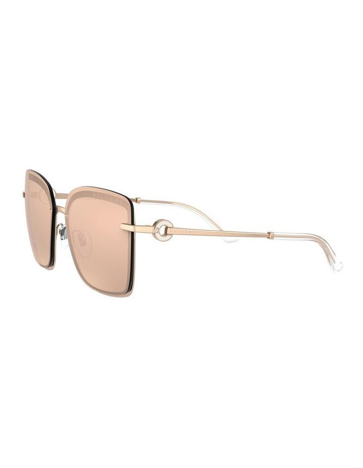 Rose Gold Square Sunglasses 0BV6151B 1533956001 image 3
