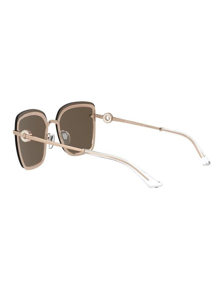 Rose Gold Square Sunglasses 0BV6151B 1533956001 image 5