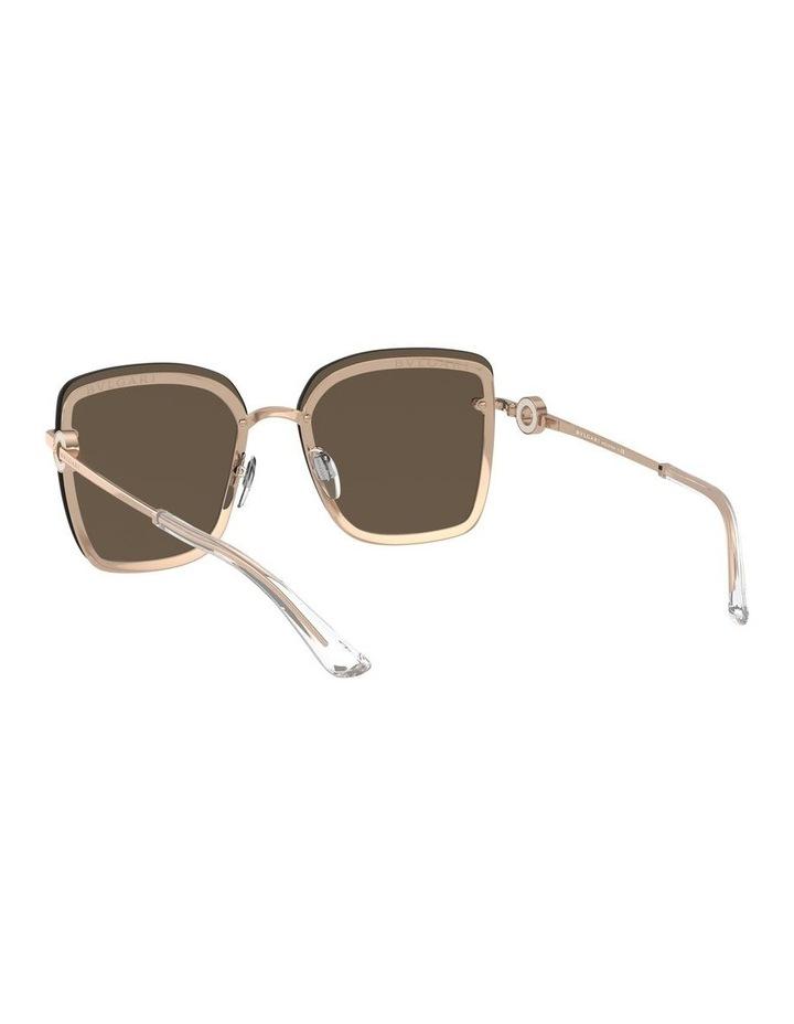 Rose Gold Square Sunglasses 0BV6151B 1533956001 image 6