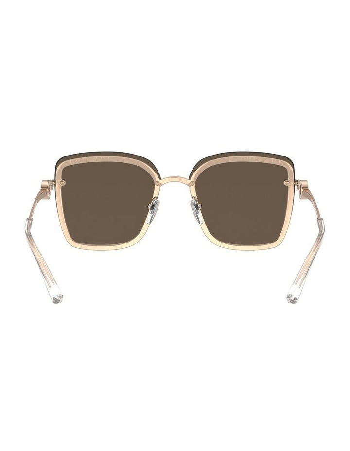 Rose Gold Square Sunglasses 0BV6151B 1533956001 image 7