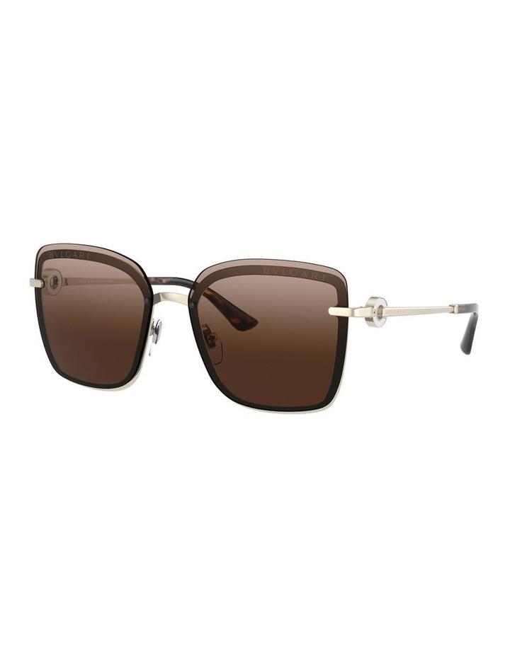 Brown Square Sunglasses 0BV6151B 1533956002 image 1