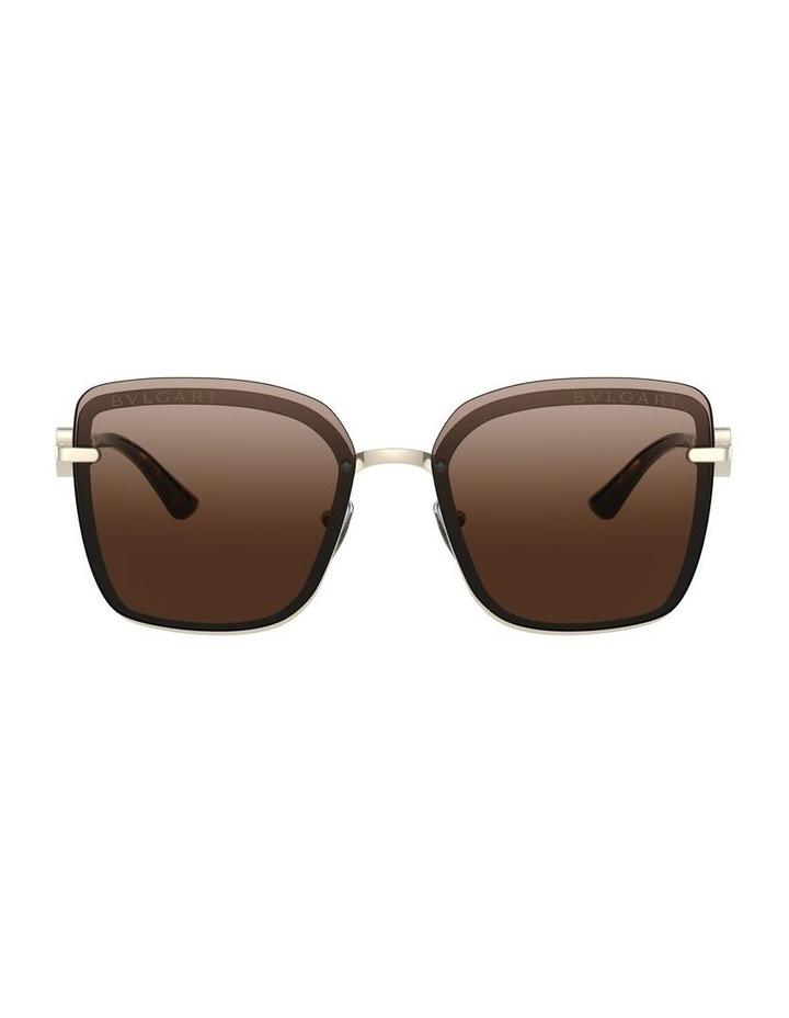 Brown Square Sunglasses 0BV6151B 1533956002 image 2