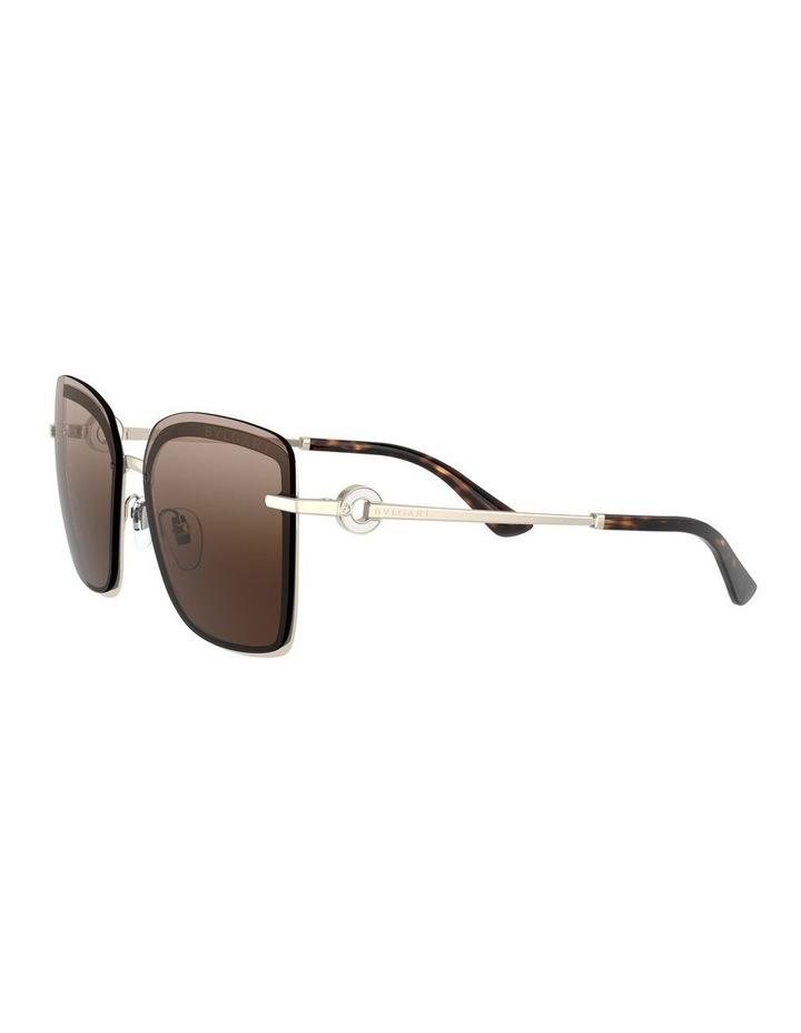 Brown Square Sunglasses 0BV6151B 1533956002 image 3