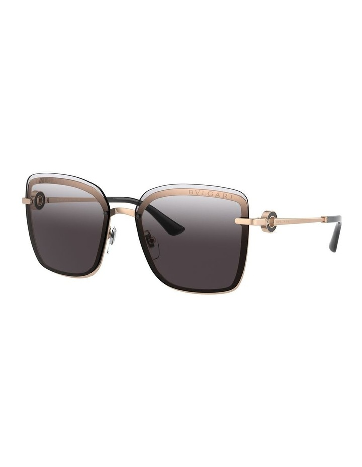 Dark Grey Square Sunglasses 0BV6151B 1533956003 image 1