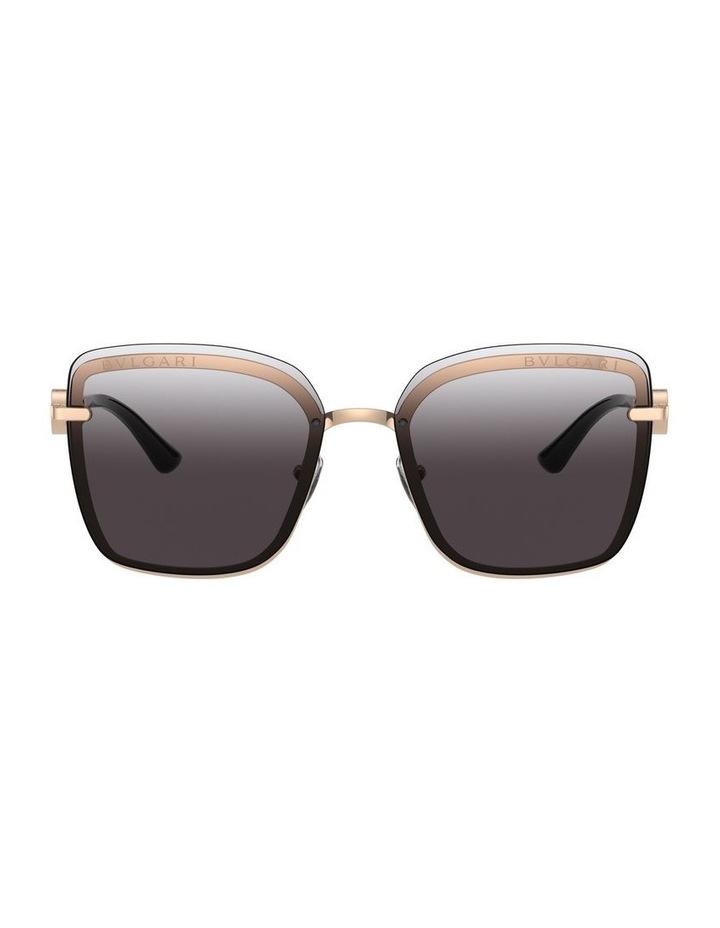 Dark Grey Square Sunglasses 0BV6151B 1533956003 image 2