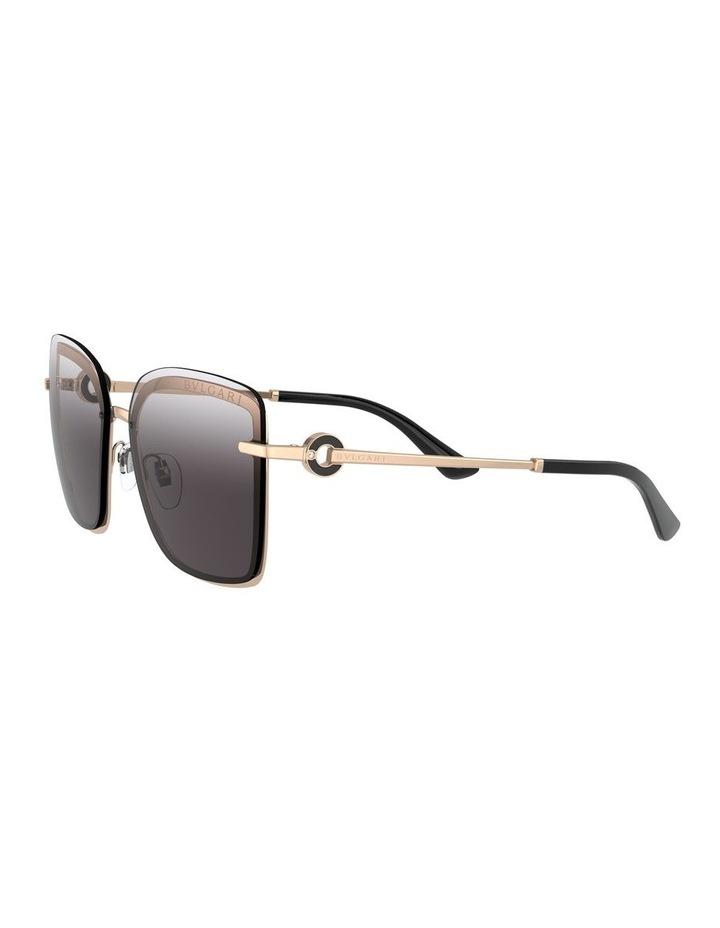 Dark Grey Square Sunglasses 0BV6151B 1533956003 image 3