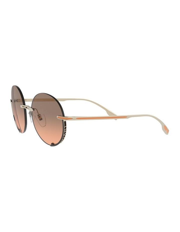 Brown Rimless Round Sunglasses 0BV6153 1533986002 image 3