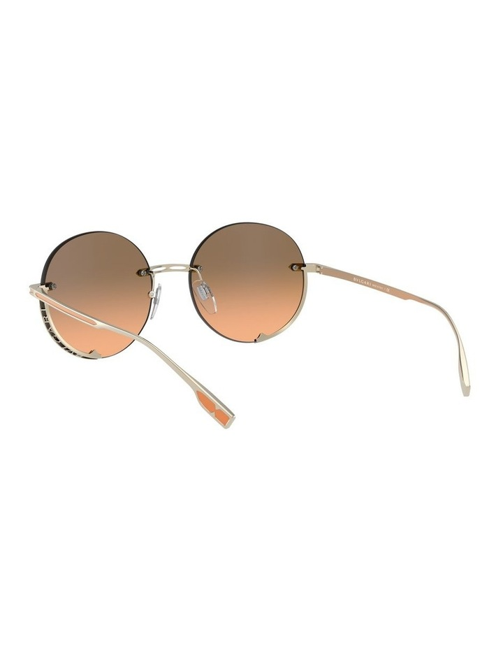 Brown Rimless Round Sunglasses 0BV6153 1533986002 image 6