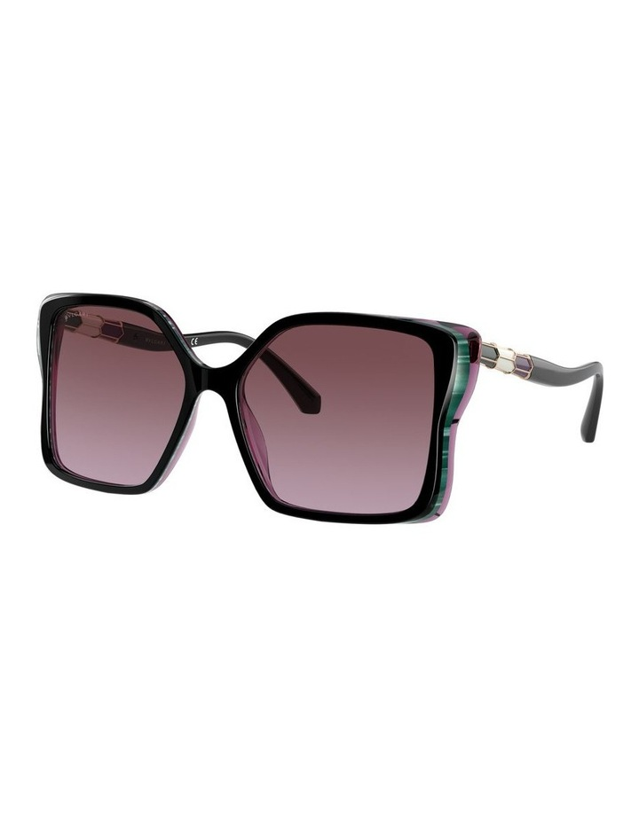 Black/Purple Butterfly Sunglasses 0BV8229BF 1534527001 image 1