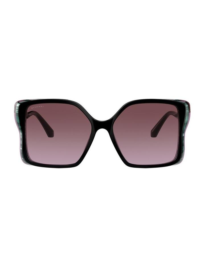 Black/Purple Butterfly Sunglasses 0BV8229BF 1534527001 image 2
