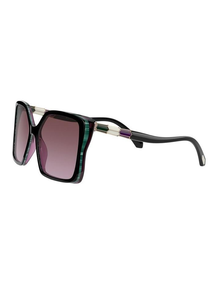 Black/Purple Butterfly Sunglasses 0BV8229BF 1534527001 image 3